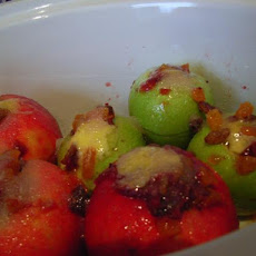 Baked Cranberry Apples(Crock Pot)