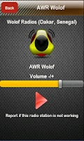 Screenshot of Wolof Radio Wolof Radios