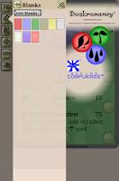 Screenshot of Deckromancy®Trading Card Maker