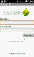 Screenshot of Banque Zitouna