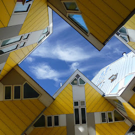 cube houses by Stefano Landenna - Buildings & Architecture Homes ( houses, rotterdam, architecture, cube, house, netherlands )