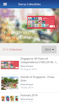 Screenshot of SingPost Mobile App