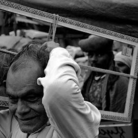 Reflection  by Debasrita Sarkar - People Portraits of Men