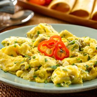 scrambled egg with corn tortilla and egg scramble mexican egg scramble ...