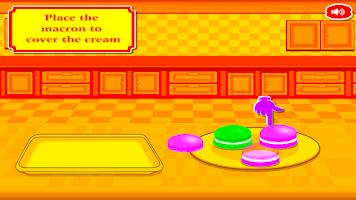 Screenshot of Super Macaroons Cooking