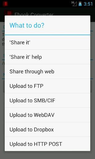 Ebook Converter - screenshot