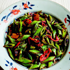 Runner Beans With Black Beans And Chilli