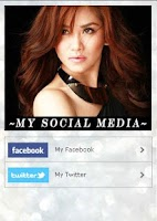 Screenshot of Sarah Geronimo App
