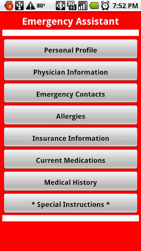 Emergency Assistant
