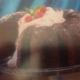 Chocolate Raspberry Pound Cake
