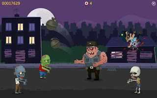 Screenshot of Zombie Blood - Tap Tap Shooter