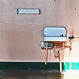Pink Sink by Tina Cantarinha - Travel Locations Landmarks ( alcatraz )