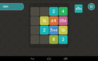Screenshot of 2048 Extended