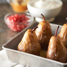 Honey-Roasted Pears with Caramel Sauce