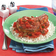 Pork Chops With Chili-tomato Sauce