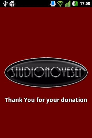 Studionovesei Donation APP