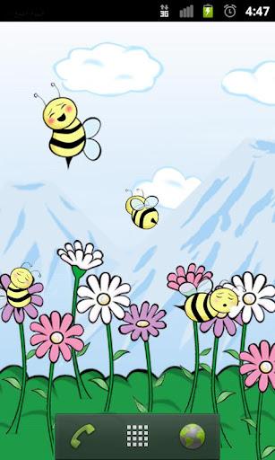 Bumbl Bees Live Wallpaper