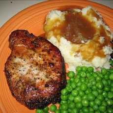 Peppered Pork Chops