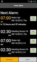 Screenshot of Power Alarm Clock - Free