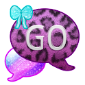 GO SMS THEME/GlitterLeopard icon