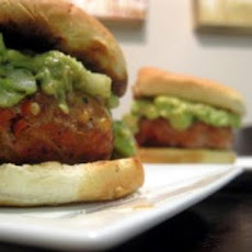 Turkey Burger With Guacamole