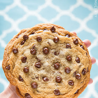 Recipe for One Big Chocolate Chip Cookie