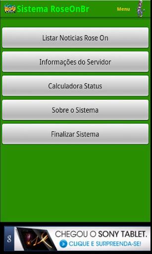 Sistema Rose Online Brasil