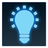 Download LED Flashlight + Clock App APK on PC