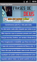 Screenshot of Frases de Deus