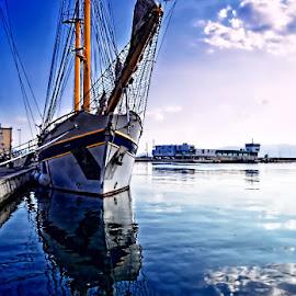 Kraljica mora by Tihomir Beller - Transportation Boats ( water, harbor, ship, sea, boat )
