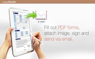 Screenshot of ezPDF Reader for Redeem Code