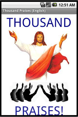 Thousand Praises English