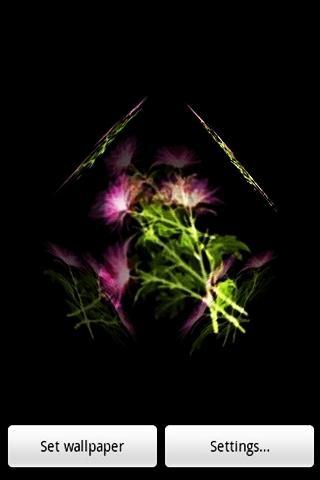 三維可愛的花1