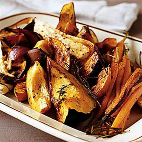 Big Platter of Roasted Vegetables