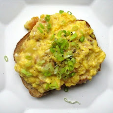 Smoked Trout and Egg Scramble