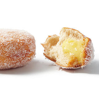 Sufganiyot (Hanukkah Donuts) with Ginger-Lime Curd