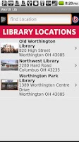 Screenshot of Worthington Libraries