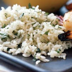 Jasmine Rice with Garlic, Ginger, and Cilantro