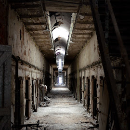 Cell Block D by James Maskell - Buildings & Architecture Decaying & Abandoned ( prison, cell block, philadelphia, abandoned, decay,  )