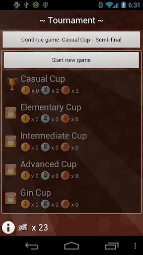 Gin Rummy - Net Gin - screenshot