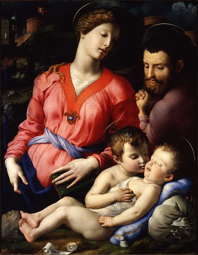 Bronzino, Sacra famiglia Panciatichi