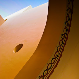 Cancun curves by Mike O'Connor - Buildings & Architecture Architectural Detail ( abstract, colour, architecture, design, curves )
