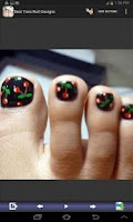 Screenshot of Best Toes Nail Designs