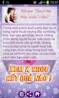 Screenshot of Trac Nghiem Tinh Yeu