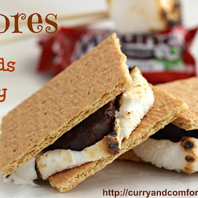 S'mores with Mounds Candy Bars