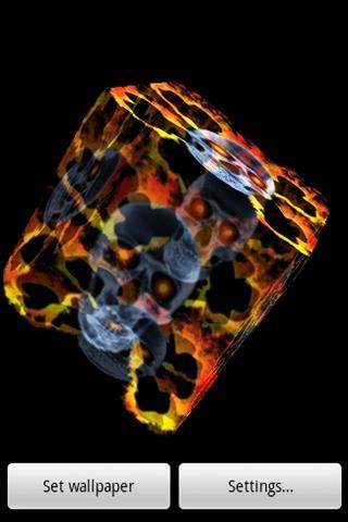 화재 해골