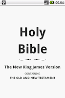 Screenshot of Holy Bible (NKJV)