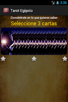 Screenshot of Tarot Egipcio