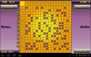 Screenshot of Nonodoku