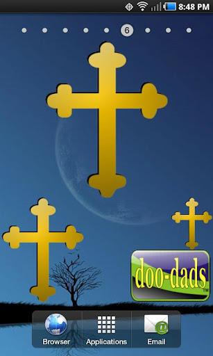 Gold Cross doo-dad